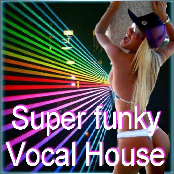 Super Funky Vocal House - Album Various Artists CD cover