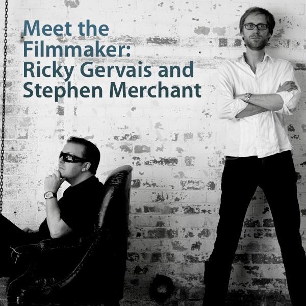 Meet the Filmmakers: Ricky Gervais & Stephen Merchant