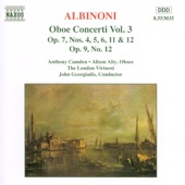 The London Virtuosi - Concerto for 2 Oboes In D Major, Op. 9, No. 12: II. Adagio