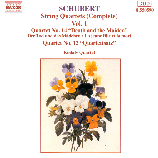 Schubert: String Quartets by Kodály Quartet