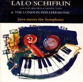 SCHIFRIN, LALO WITH RAY BROWN, GRADY TATE & THE LONDON PHILHARMONIC - Bach To The Blues