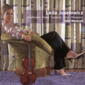 Leila Josefowicz & John Novacek - Ravel : Violin Sonata in G major : I Allegretto