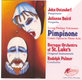 Telemann: Pimpinone (Comic Opera in Three Acts)