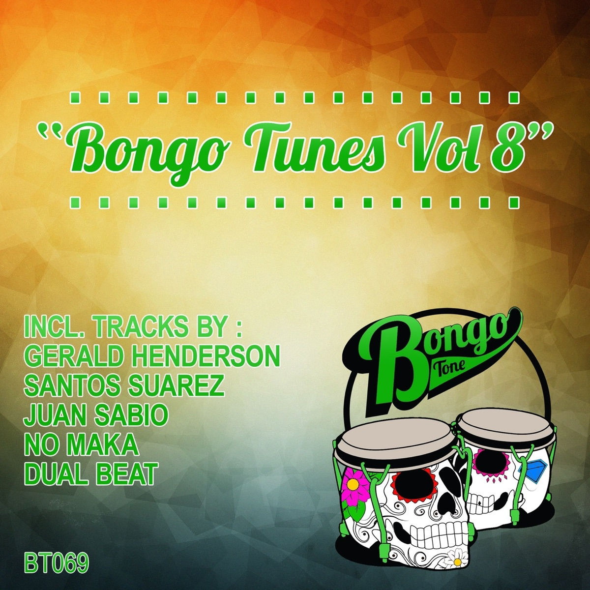 Bongo Tunes Vol 8 - EP Various Artists CD cover
