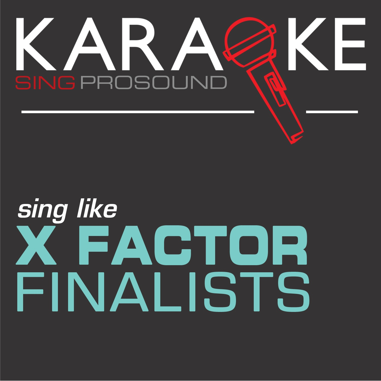 Karaoke in the Style of X Factor Finalists - EP