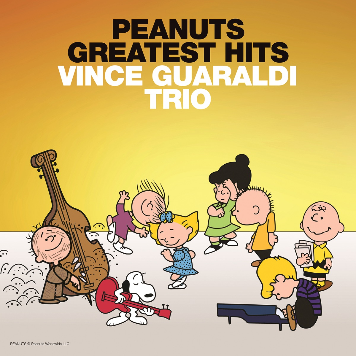 Peanuts Greatest Hits Music From the TV Specials Vince Guaraldi Trio CD cover