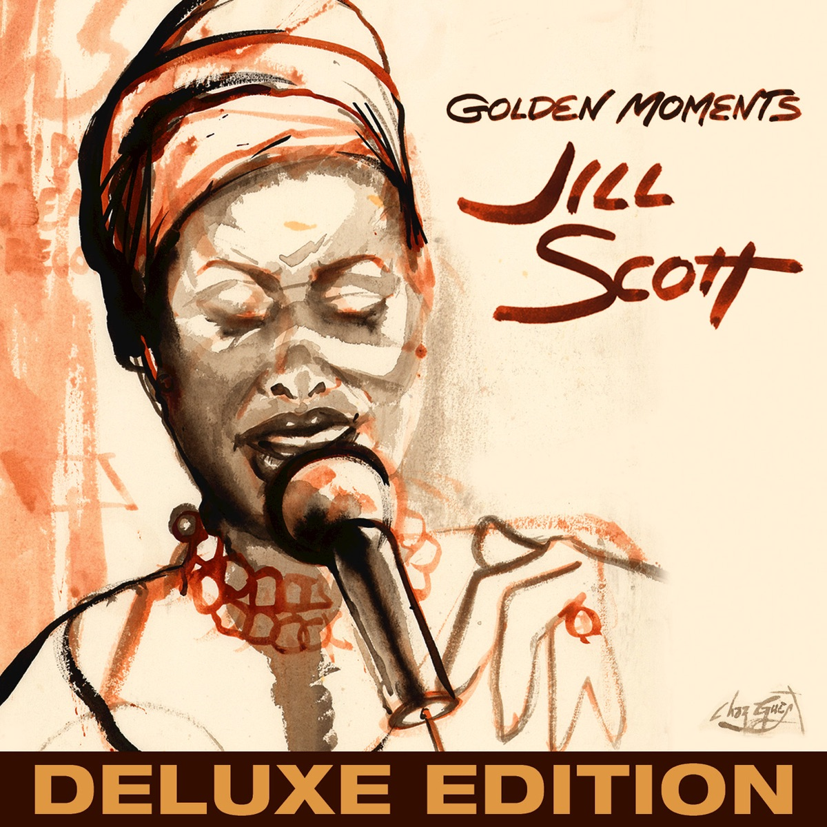 Golden Moments Deluxe Jill Scott CD cover