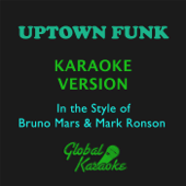 Uptown Funk (In the Style of Bruno Mars & Mark Ronson) [Karaoke Backing Track]