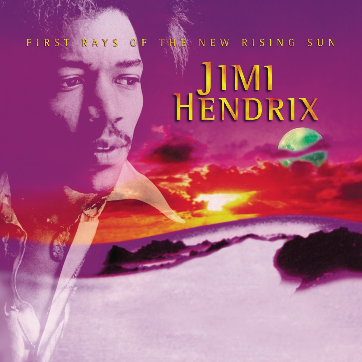 First Rays of the New Rising Sun Jimi Hendrix CD cover