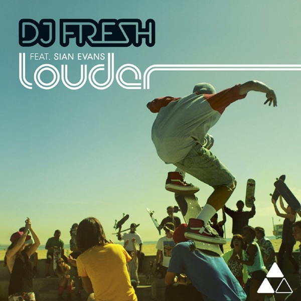 Cover art for Louder