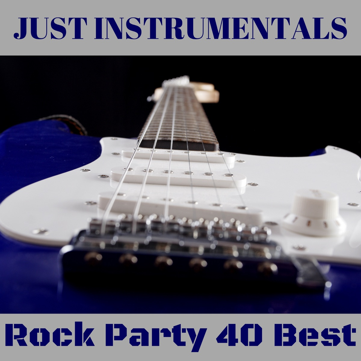 Rock Party 40 Best Just Instrumentals Wicker Hans CD cover