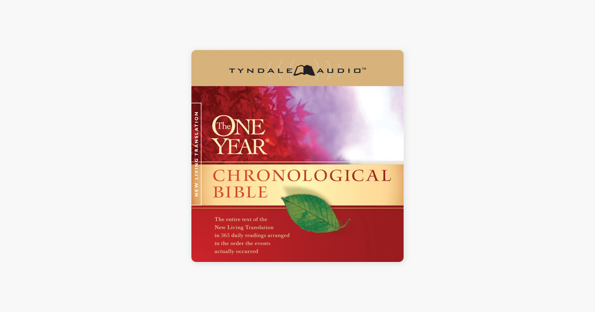 The One Year Chronological Bible NLT (Unabridged)