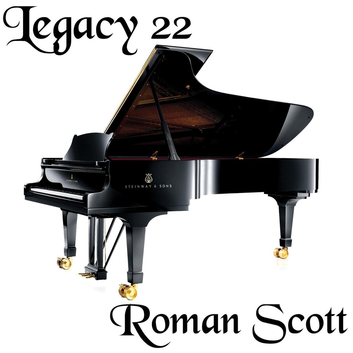 Legacy 22 Roman Scott CD cover