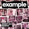 Won't Go Quietly - Single, Example