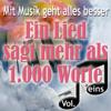 Various Artists - Mit Musik geht alles besser - Ein Lied sagt mehr als 1.000 Worte, Vol. 1 artwork