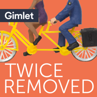Podcast cover art for Twice Removed