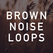 Brown Noise Loops - Brown Noise Therapy Cover Art