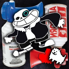The Undertale Airhorn Collection