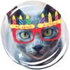 Maxgrecus - happy birthday cat artwork