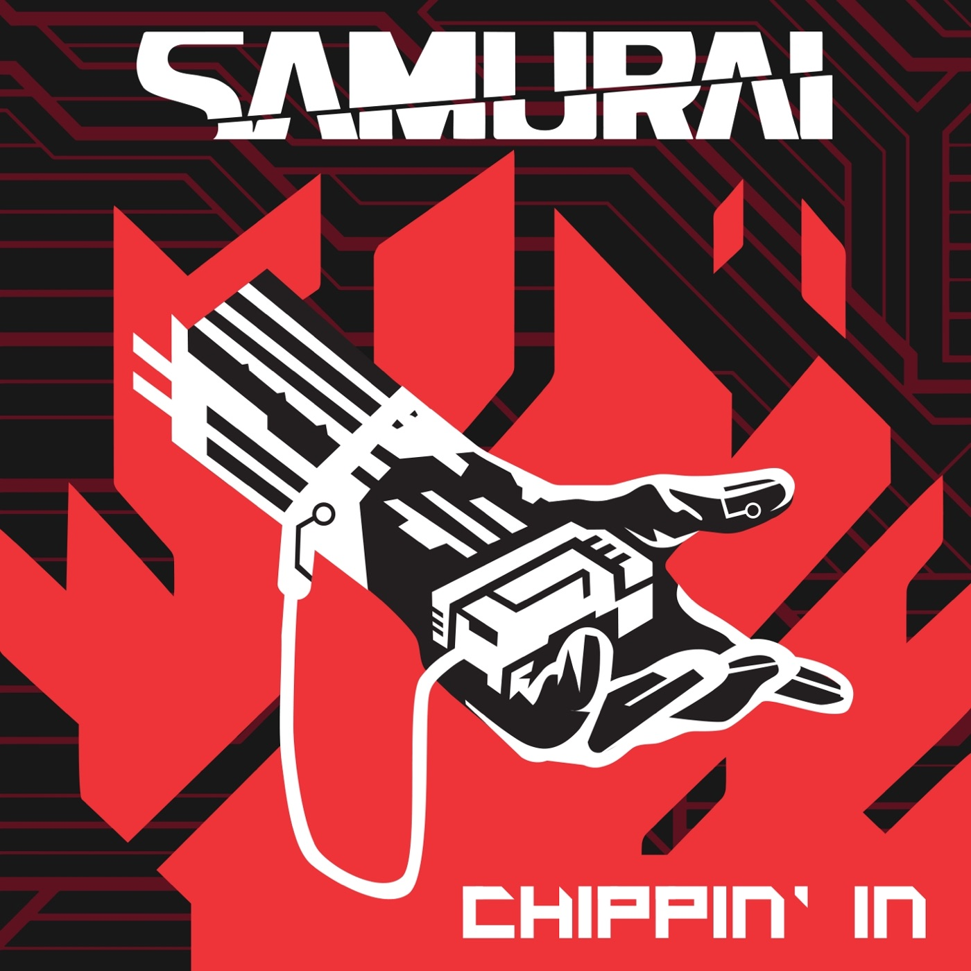 SAMURAI (Refused) - Chippin' In [single] (2019)