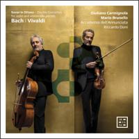 Mario Brunello, Accademia dell'Annunciata, Giuliano Carmignola & Riccardo Doni - Bach & Vivaldi: Sonar in ottava. Double Concertos for Violin and Violoncello Piccolo artwork