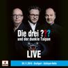 Die drei ??? - und der dunkle Taipan (LIVE - 29.11.19 Stuttgart, Schleyerhalle) Grafik