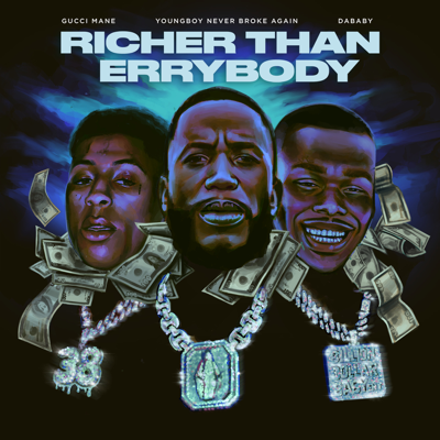 Gucci Mane - Richer Than Errybody (feat. YoungBoy Never Broke Again & DaBaby) Song Reviews