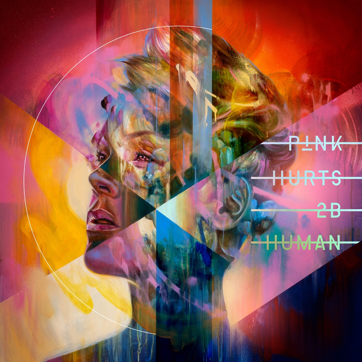 Hurts 2B Human Pnk CD cover
