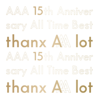AAA - AAA 15th Anniversary All Time Best -thanx AAA lot- artwork