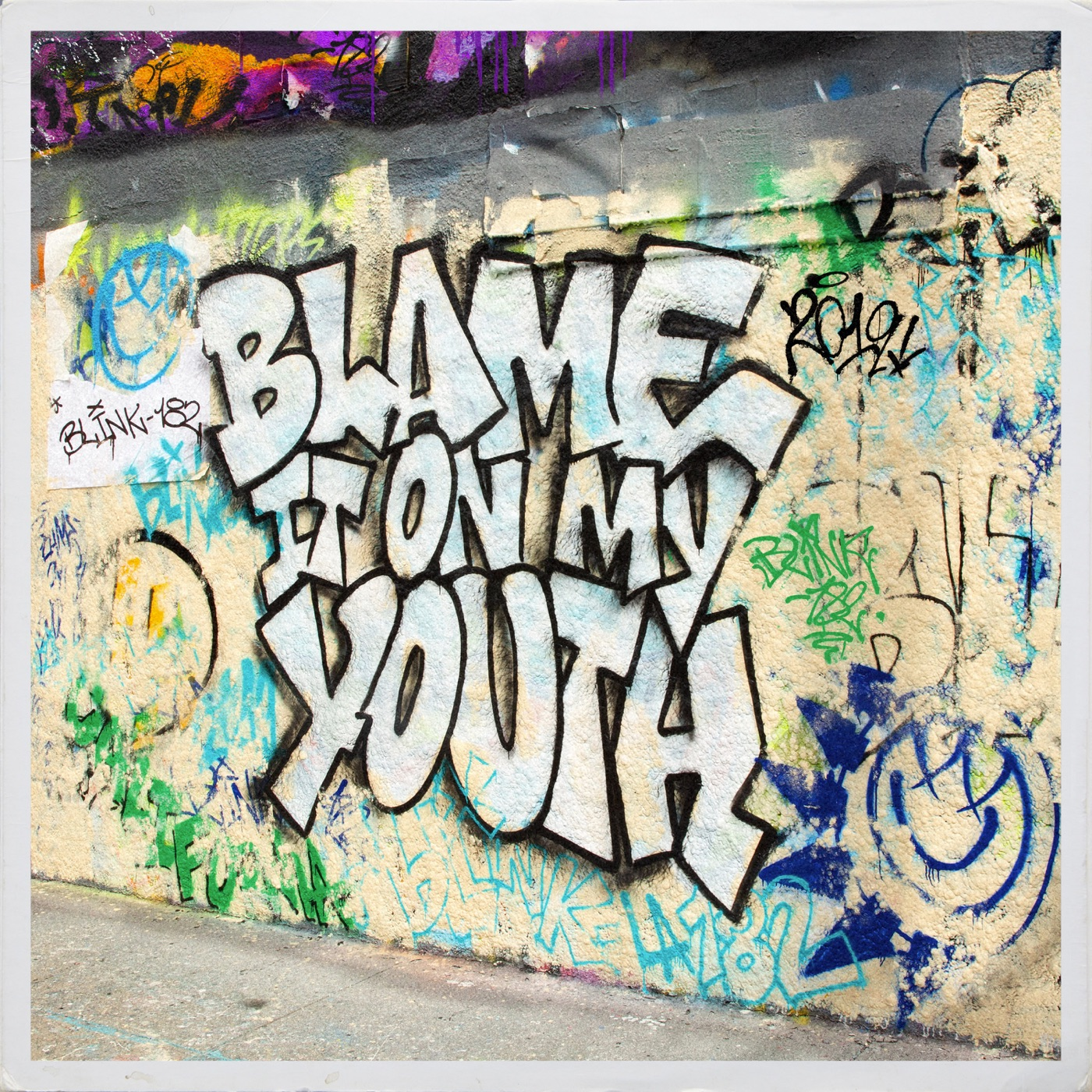 blink-182 - Blame It On My Youth [Single] (2019)