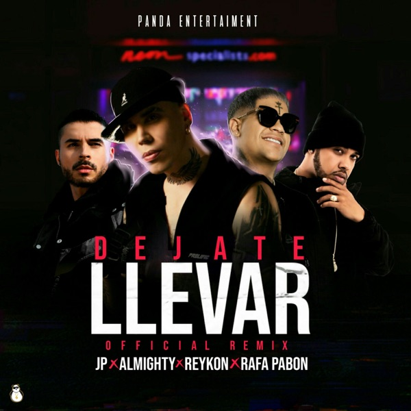 Déjate Llevar (Remix) [feat. Reykon] - Single
