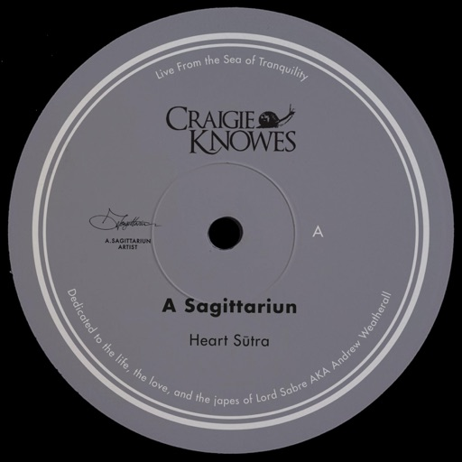 Live from the Sea of Tranquility - Single by A Sagittariun