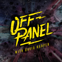 Podcast cover art for Off Panel: A Comics Interview Podcast