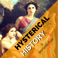 Podcast cover art for Hysterical History