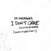 Ed Sheeran & Justin Bieber - I Don't Care (Chronixx & Koffee Remix) artwork
