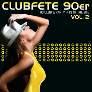 Verschiedene Interpreten - Clubfete 90er, Vol. 2 (60 Club & Party Hits Of The 90's)