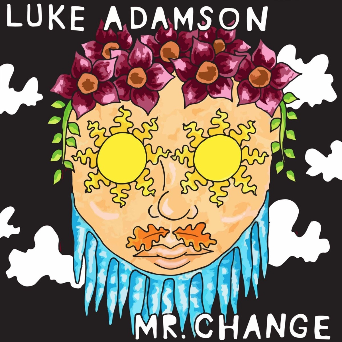 Mr Change - Single Luke Adamson CD cover