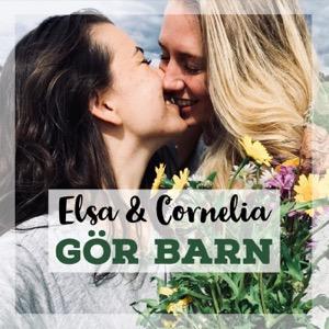 Elsa och Cornelia gör barn