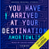 Amor Towles - You Have Arrived at Your Destination: Forward (Unabridged)