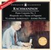 Rachmaninov Piano Concerto No 2 Rhapsody on a Theme of Paganini