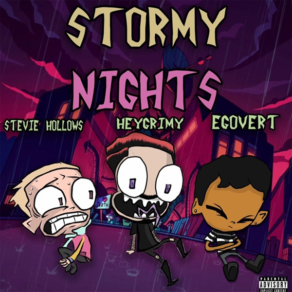 Stormy Nights (feat. Egovert & Stevie Hollows) - Single