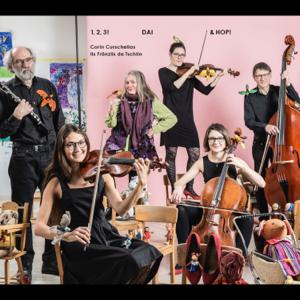 Corin Curschellas & Ils Fränzlis da Tschlin - 1,2,3! Dai & Hop!
