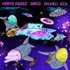 Herve Pagez & Diplo - Spicy (feat. Charli XCX) illustration
