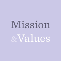 Podcast cover art for Mission & Values - A Backstage Capital Podcast