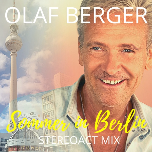 Olaf Berger mit Sommer in Berlin (Stereoact
