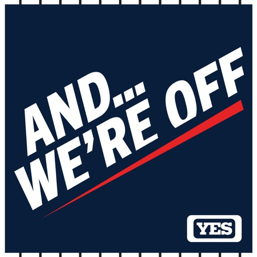 Cover image of And We're Off