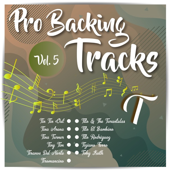 Pro Backing Tracks T, Vol.5
