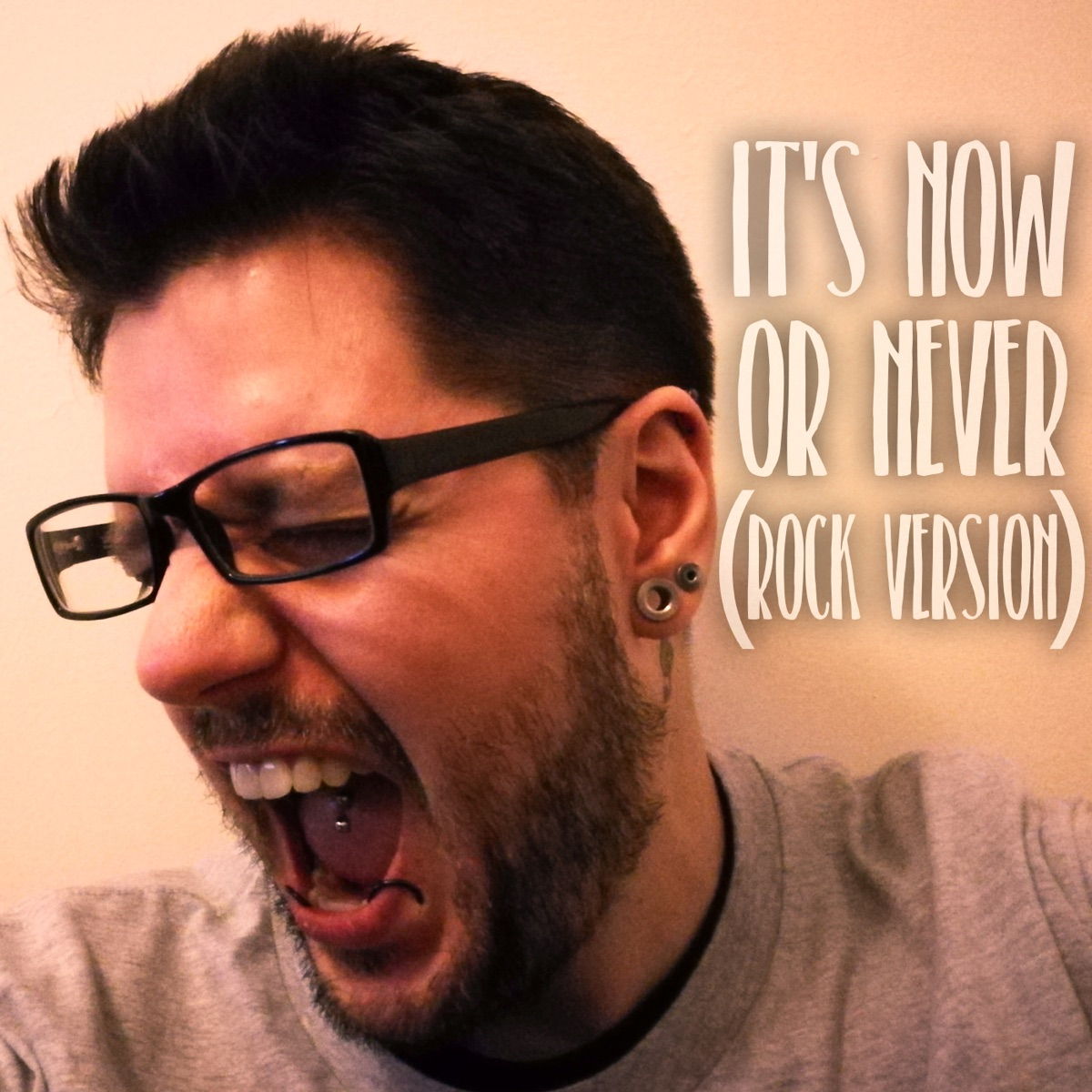 Its Now or Never Rock Version - Single Jack Muskrat CD cover