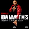 How Many Times feat Chris Brown Lil Wayne Big Sean Single