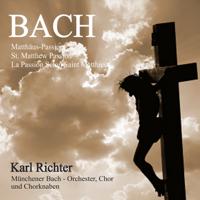 Münchener Bach-Orchester, Münchener Bach-Chor, Münchener Chorknaben, Karl Richter, Ernst Haefliger & Dietrich Fischer-Dieskau - Bach: Matthäus-Passion, BWV 244 (St. Matthew Passion / La passion selon Saint Matthieu) artwork